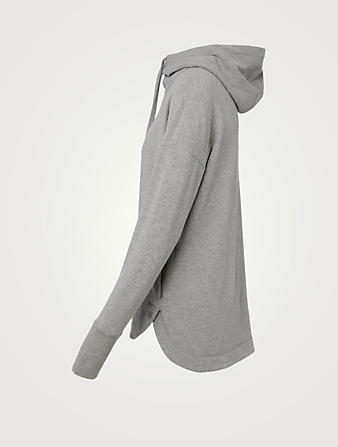 SWEATY BETTY Haut à capuche Escape en luxueux molleton Femmes Gris