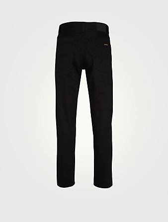 NUDIE Steady Eddie II Tapered Jeans Men's Black