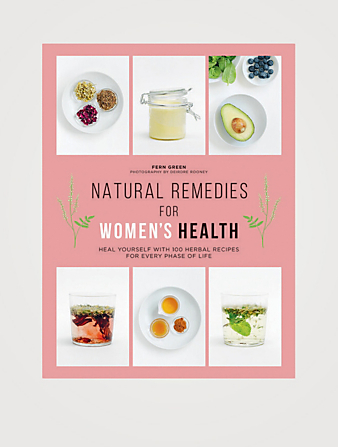 RAINCOAST Natural Remedies for Women's Health: Heal Yourself with 100 Recipes for Every Phase of Your Life Cadeaux et produits gourmet Incolore