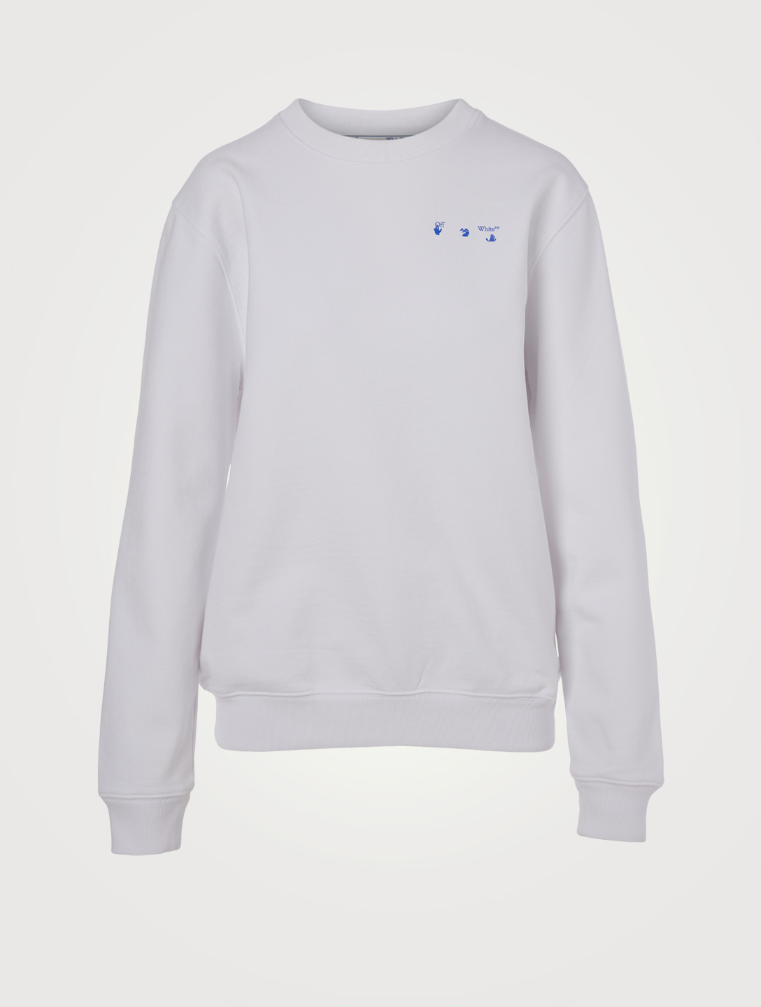 OFF-WHITE Flower Arrows Sweatshirt Femmes Blanc