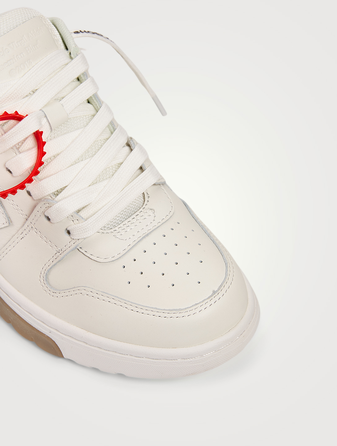 OFF-WHITE Sneakers Out Of Office « OOO » en cuir Femmes Blanc