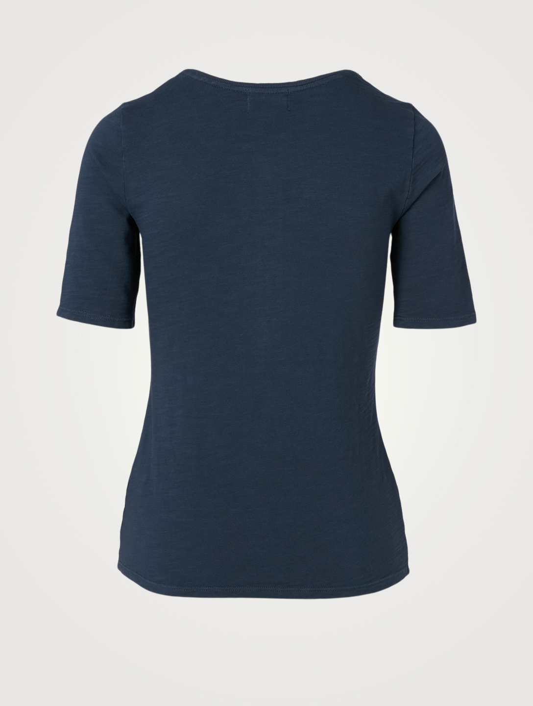 NATION LTD Demi Henley Top With Oversized Snaps Women's Blue