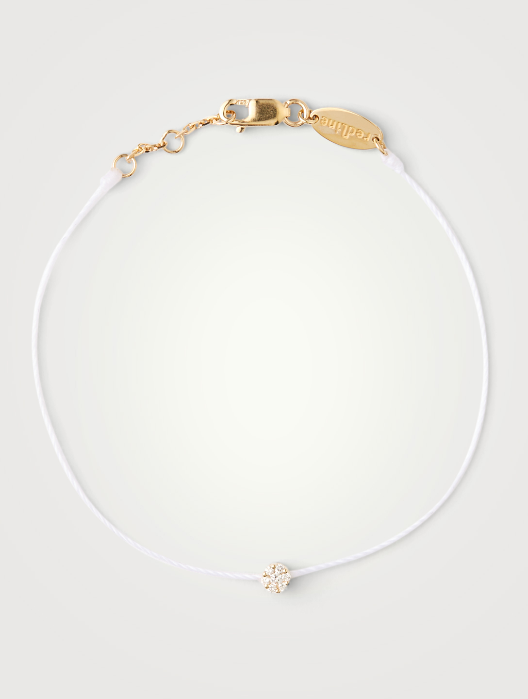 REDLINE Bracelet fil Illusion en or 18 ct avec diamants Femmes Blanc