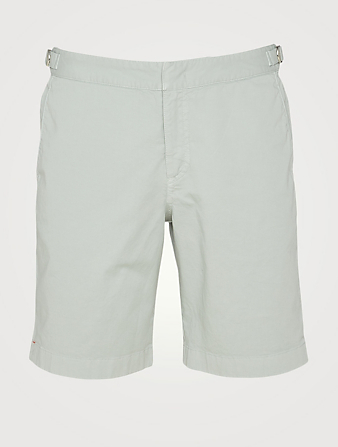 ORLEBAR BROWN Dane II Tailored Twill Shorts Men's Grey