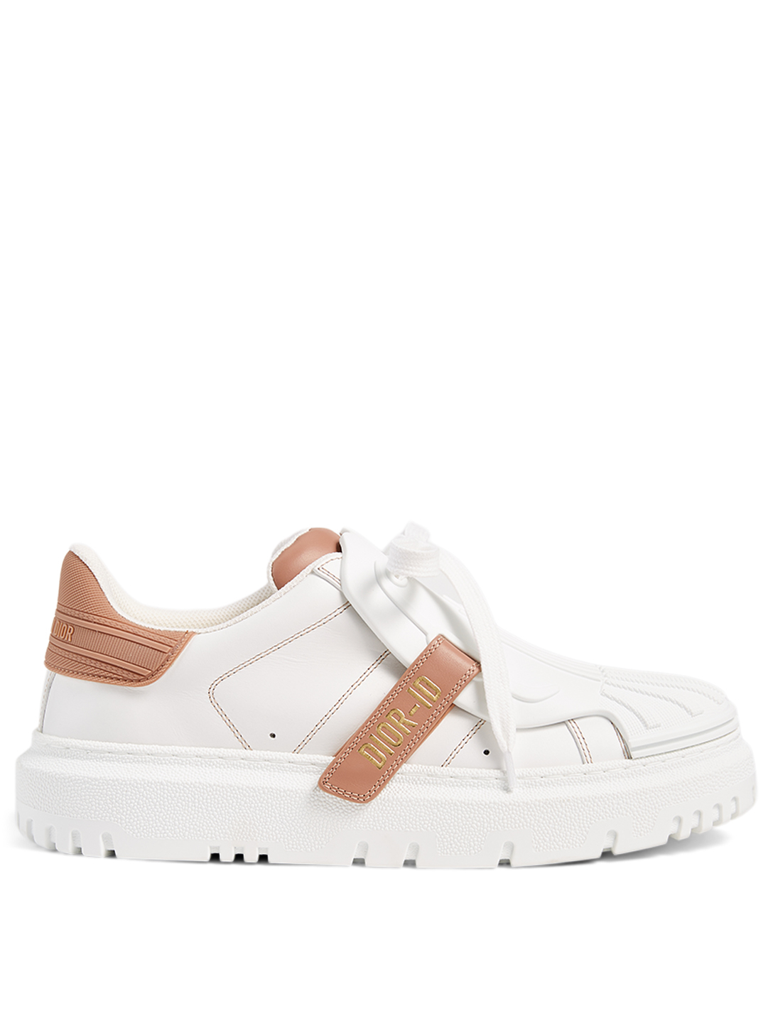 DIOR DIOR-ID Leather And Rubber Sneakers Women's Pink