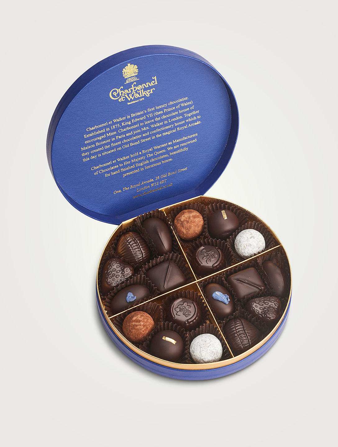 CHARBONNEL & WALKER Dark Chocolate & Truffle Selection Gifts