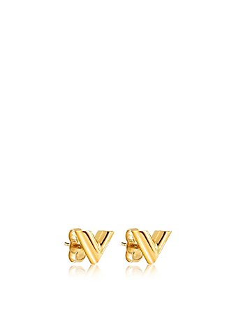 LOUIS VUITTON Essential V Stud Earrings Designers