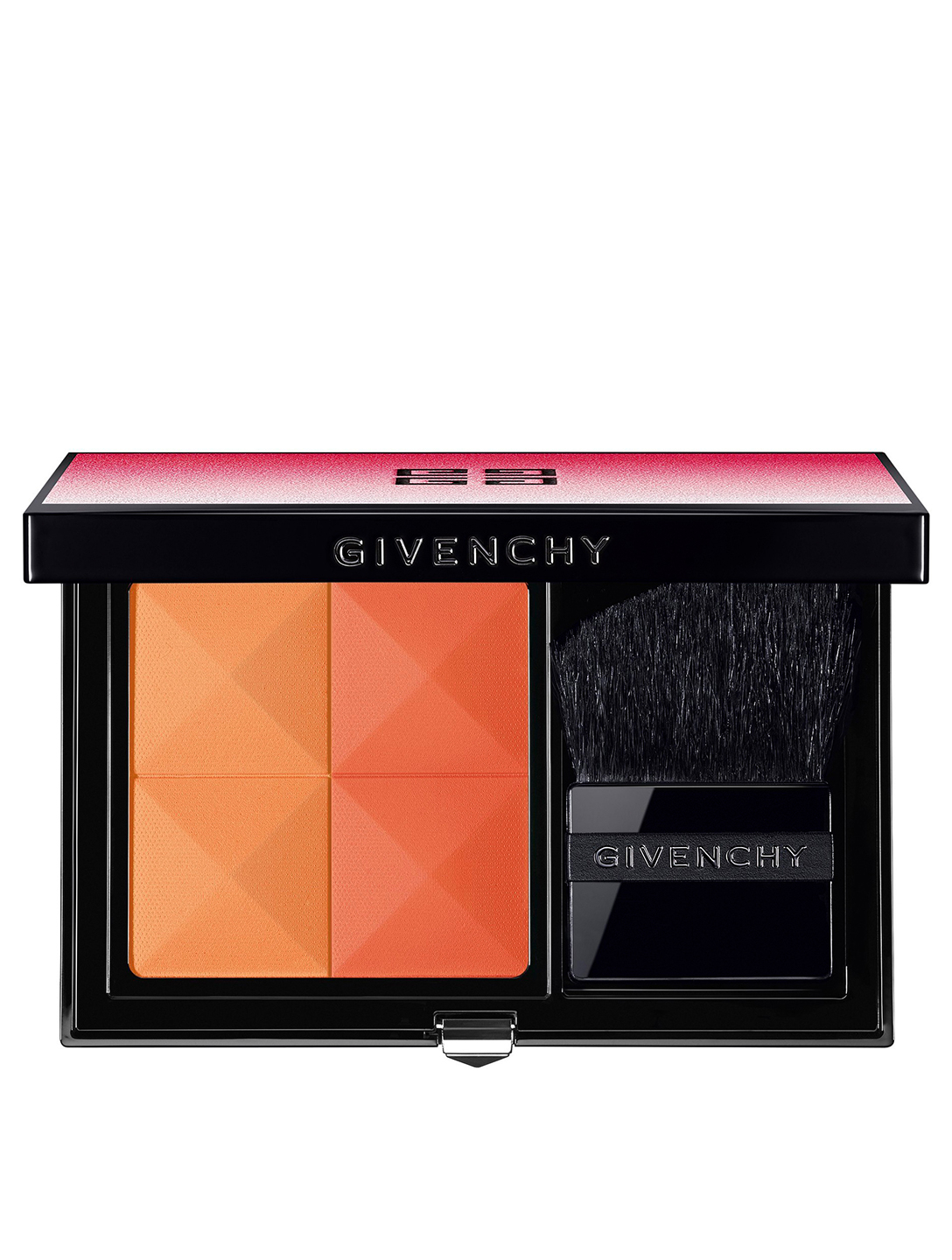 GIVENCHY Prisme Blush Powder Duo - Spring 2019 Limited Edition Beauty Orange