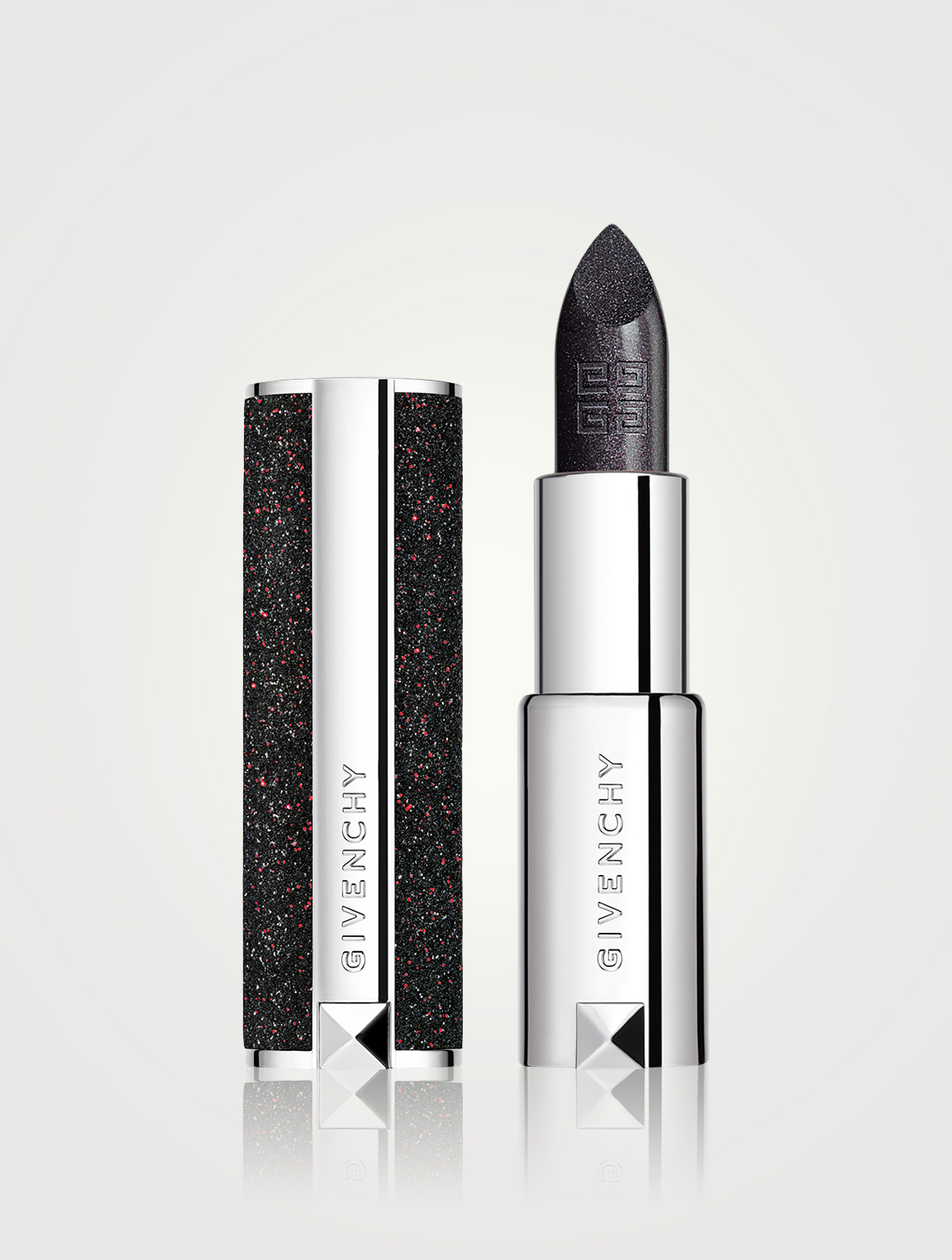 GIVENCHY Le Rouge Night Noir Lipstick Beauty Metallic