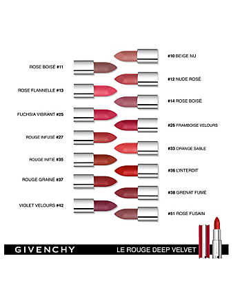 GIVENCHY Le Rouge Deep Velvet Beauté Rouge