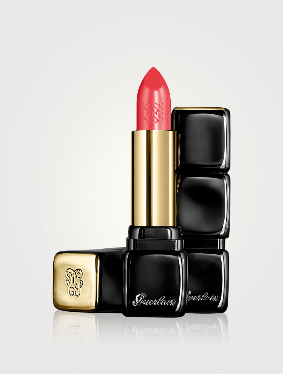 GUERLAIN KissKiss Shaping Cream Lipstick Beauty Orange
