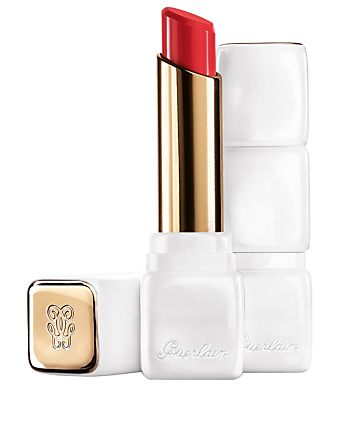 GUERLAIN KissKiss Roselip Hydrating & Plumping Tinted Lip Balm Beauty Orange