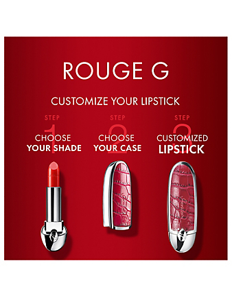GUERLAIN Rouge G Lipstick Shade Designers Red