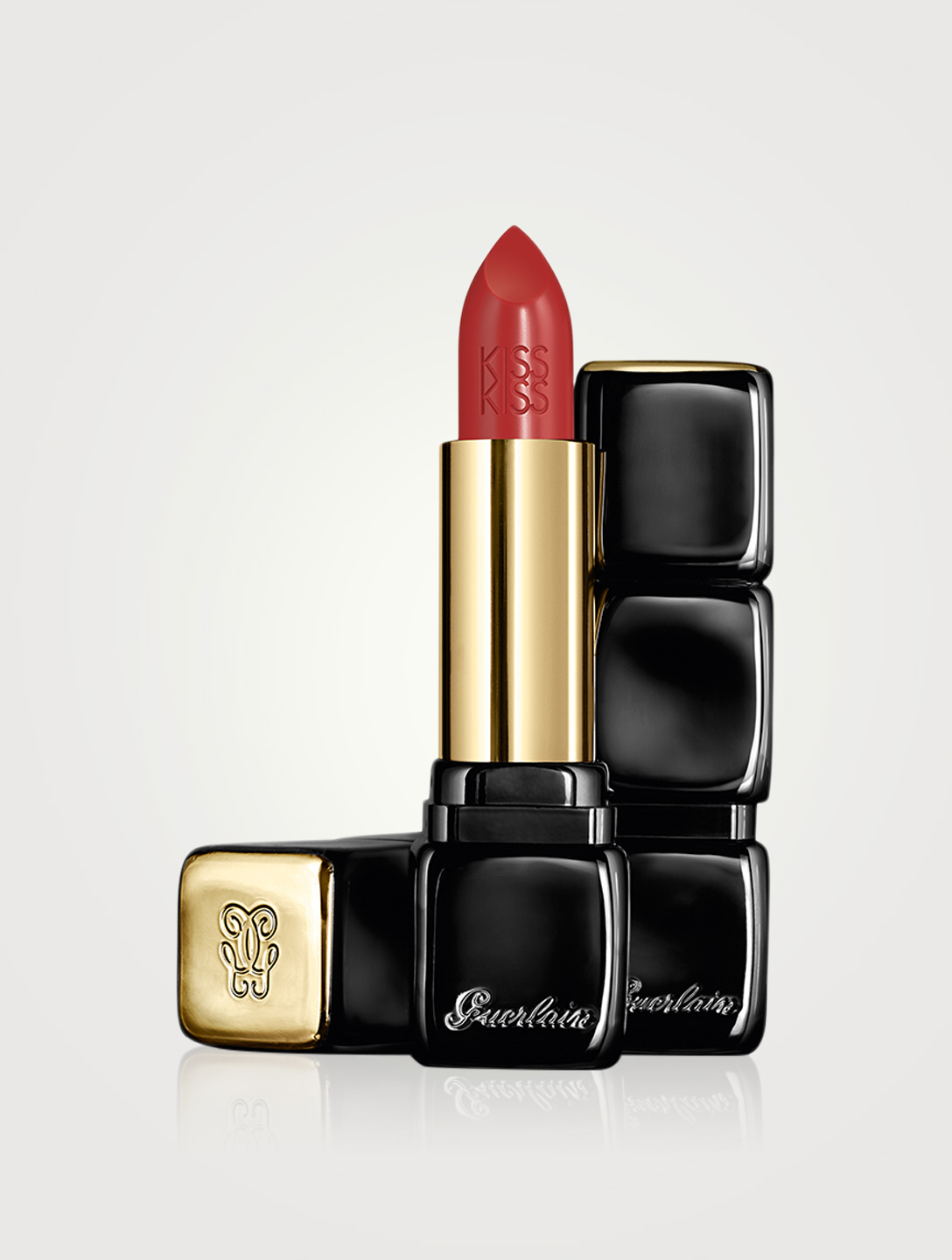 GUERLAIN KissKiss Shaping Cream Lipstick Beauty Red
