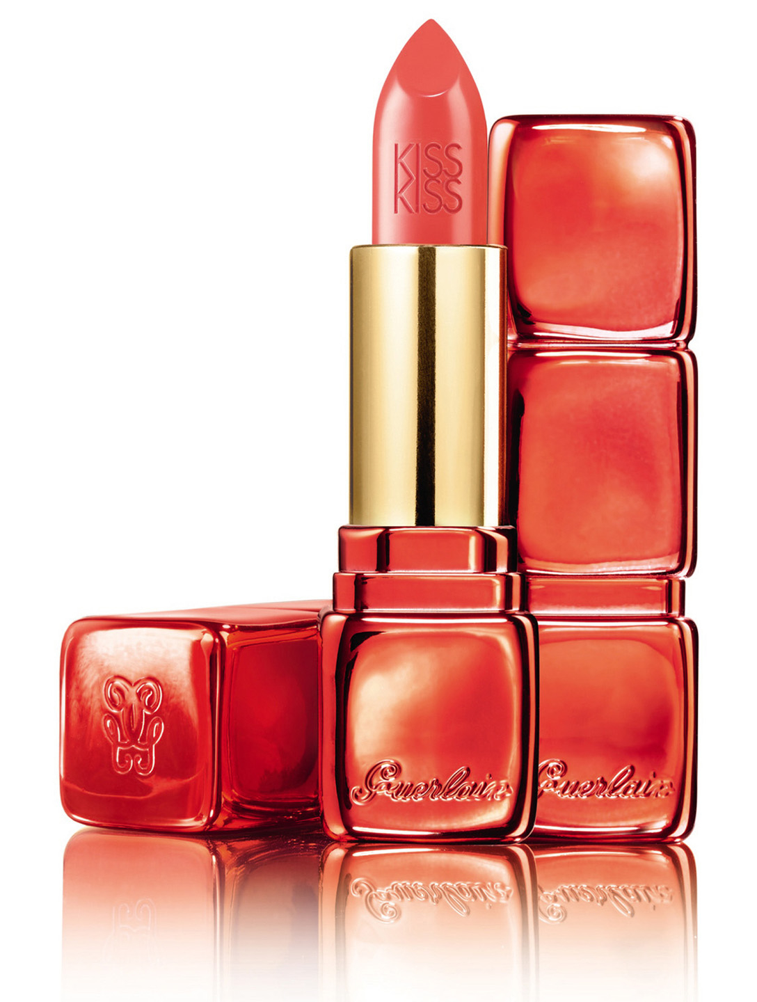 GUERLAIN KissKiss Le Rouge Lipstick  - Chinese New Year Limited Edition Beauty Orange