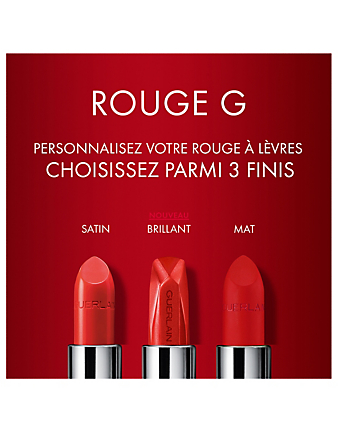 GUERLAIN La teinte mate de Rouge G de Guerlain Beauté Orange