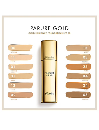 GUERLAIN Parure Gold Radiance Foundation Beauty Neutral