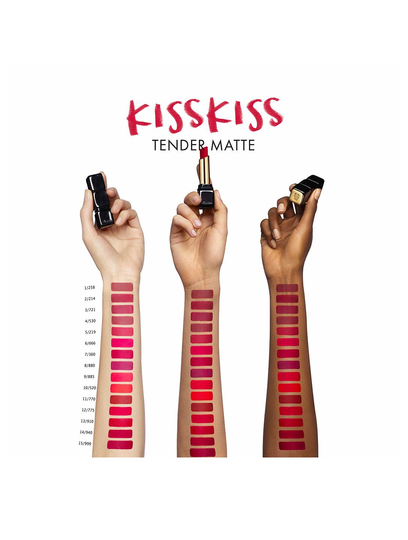 Guerlain Kisskiss Matte Lipstick #307 Crazy Nude • Se