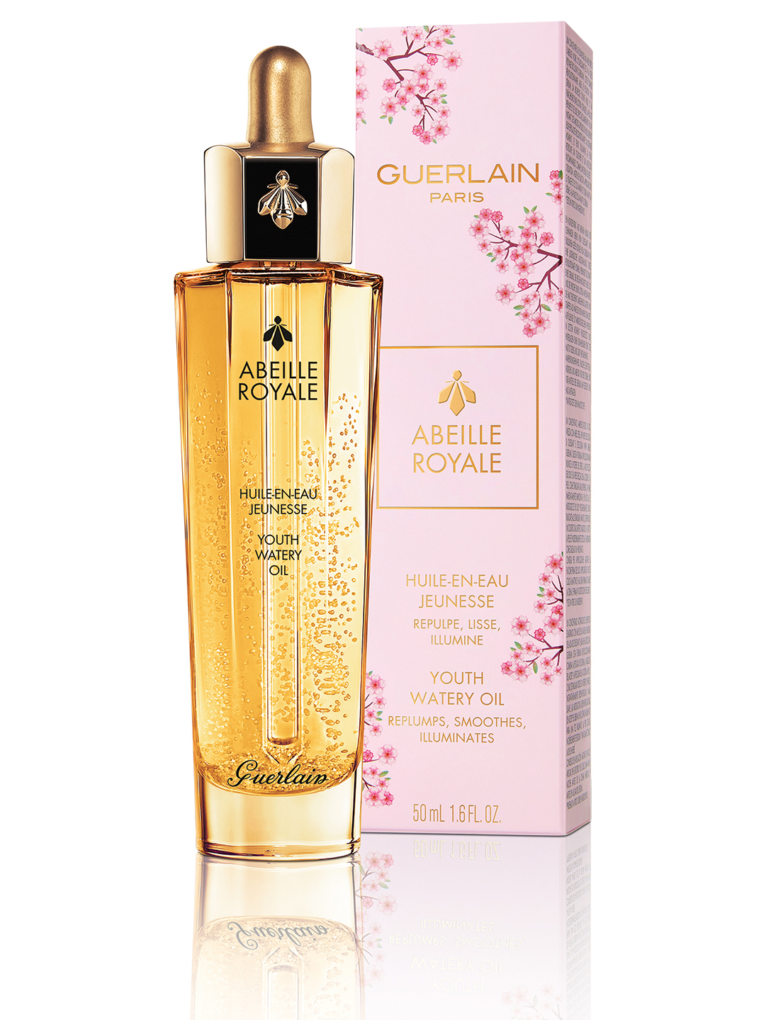 GUERLAIN Abeille Royale Youth Watery Oil - Cherry Blossom Edition Beauty