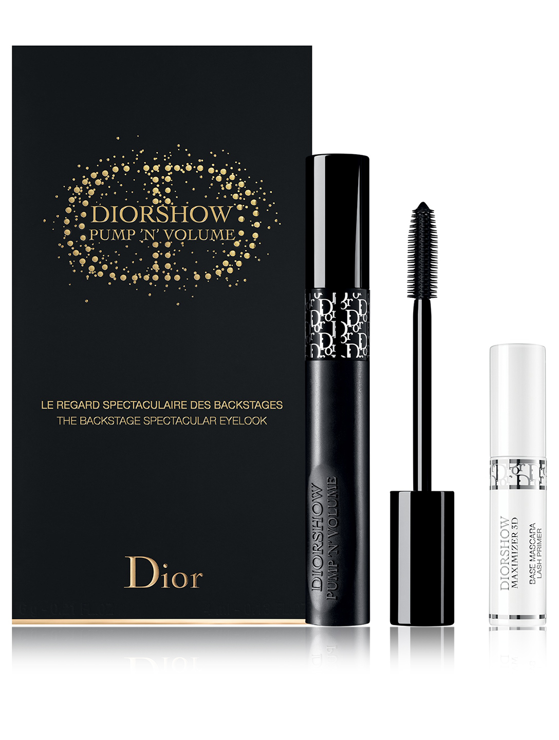 DIOR Ensemble Mascara Diorshow Pump'N'Volume Beauté