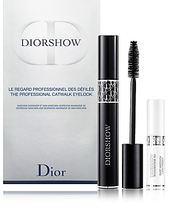 DIOR Diorshow Mascara & Diorshow Maximizer 3D Mini Mascara Set Beauty