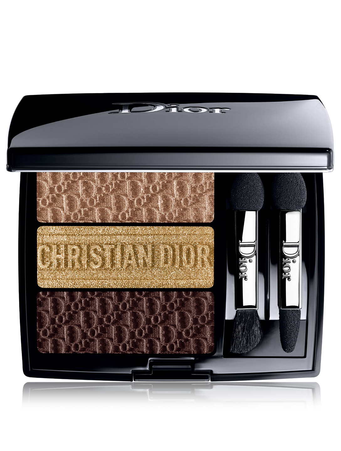 DIOR 3 Couleurs Tri(O)blique Eyeshadow Palette - Limited Edition Beauty Brown