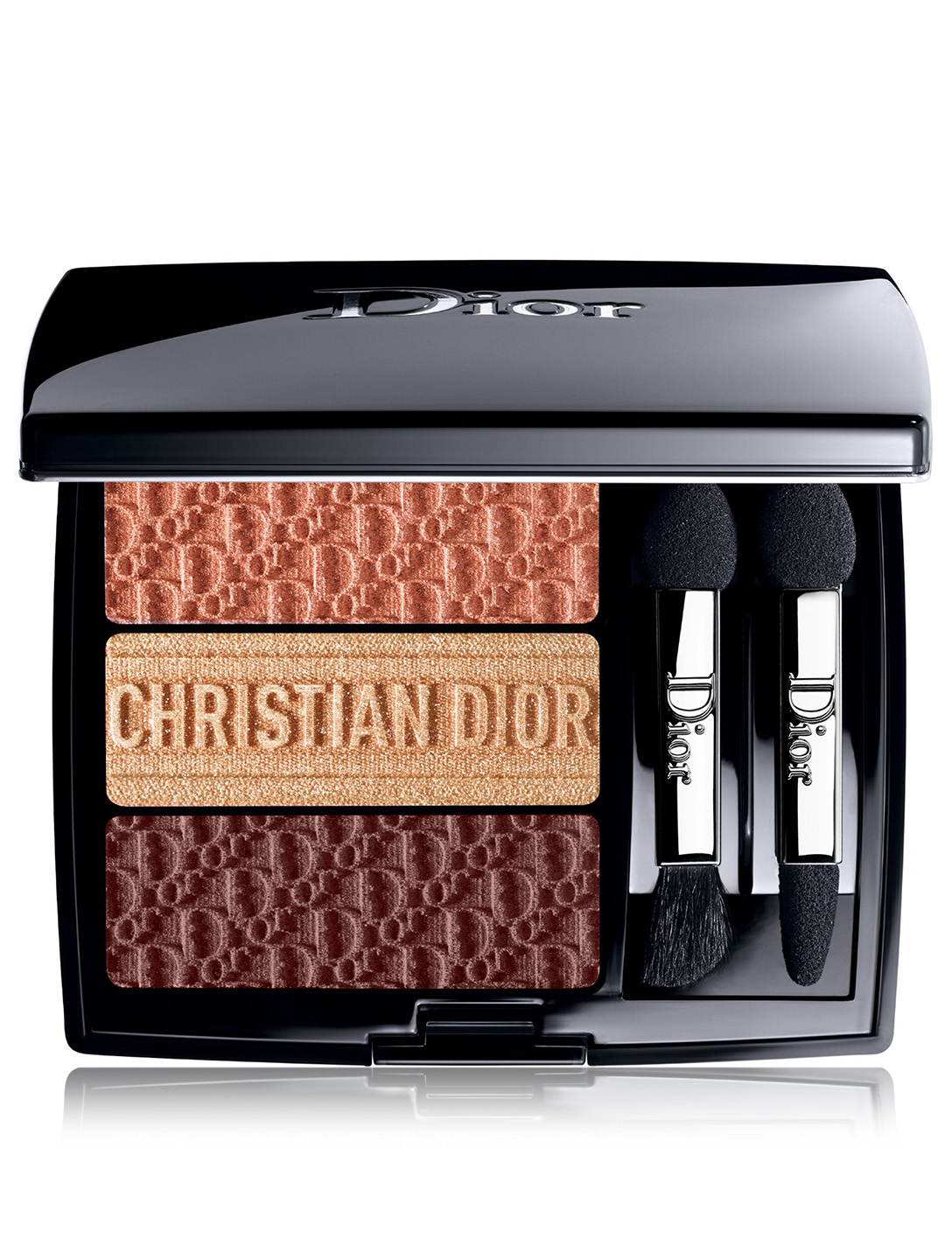 DIOR 3 Couleurs Tri(O)blique Eyeshadow Palette - Limited Edition Beauty Orange