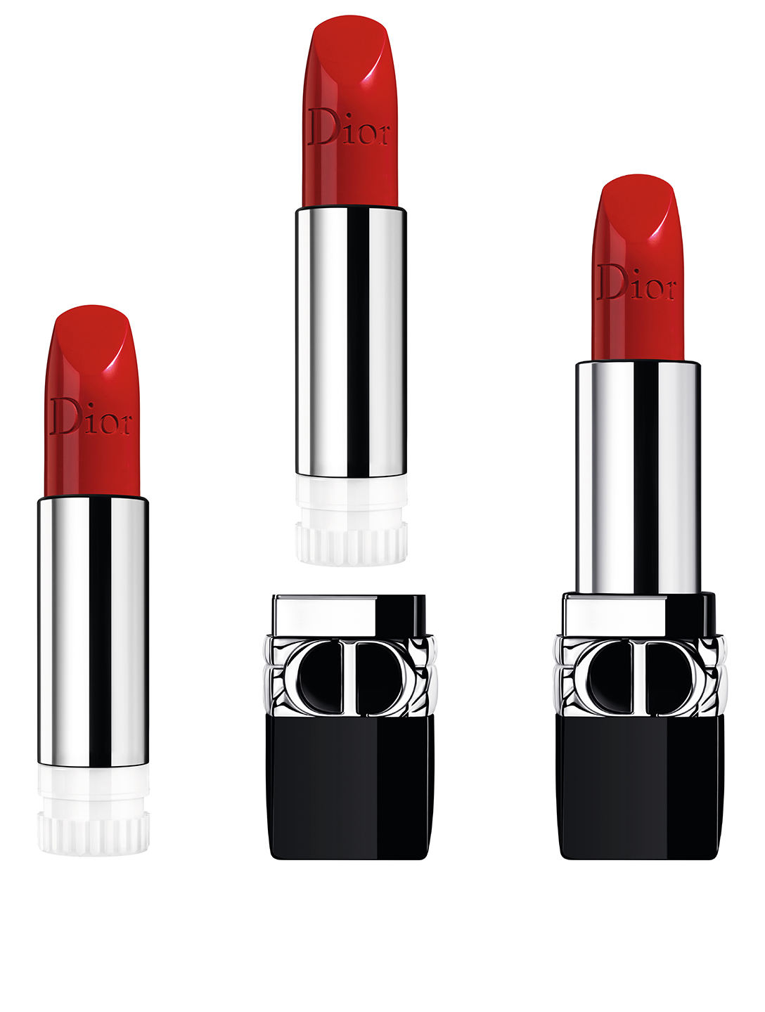 DIOR Rouge Dior Lipstick - The Refill Beauty Red