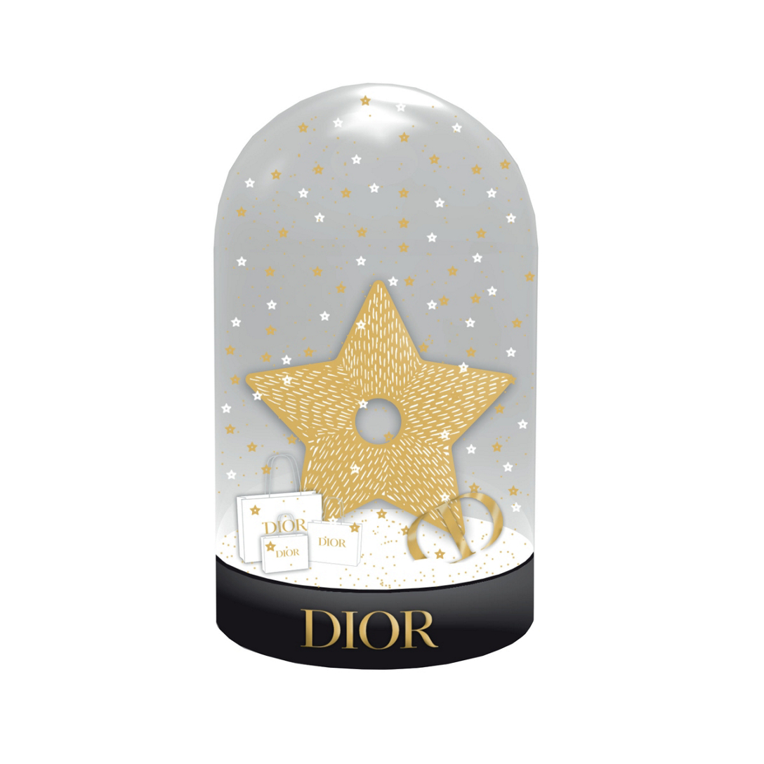 DIOR La prime de boule à neige des fêtes Dior Beauté Incolore