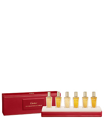 CARTIER Les Heures Voyageuses 6-Piece Discovery Set Beauty