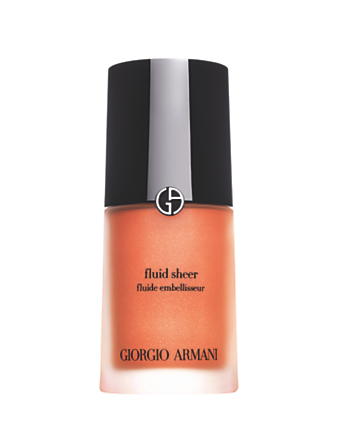 GIORGIO ARMANI Fluid Sheer Illuminator Beauty Orange