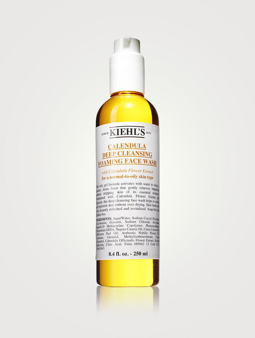 KIEHL'S Calendula Deep Cleansing Foaming Face Wash Beauty