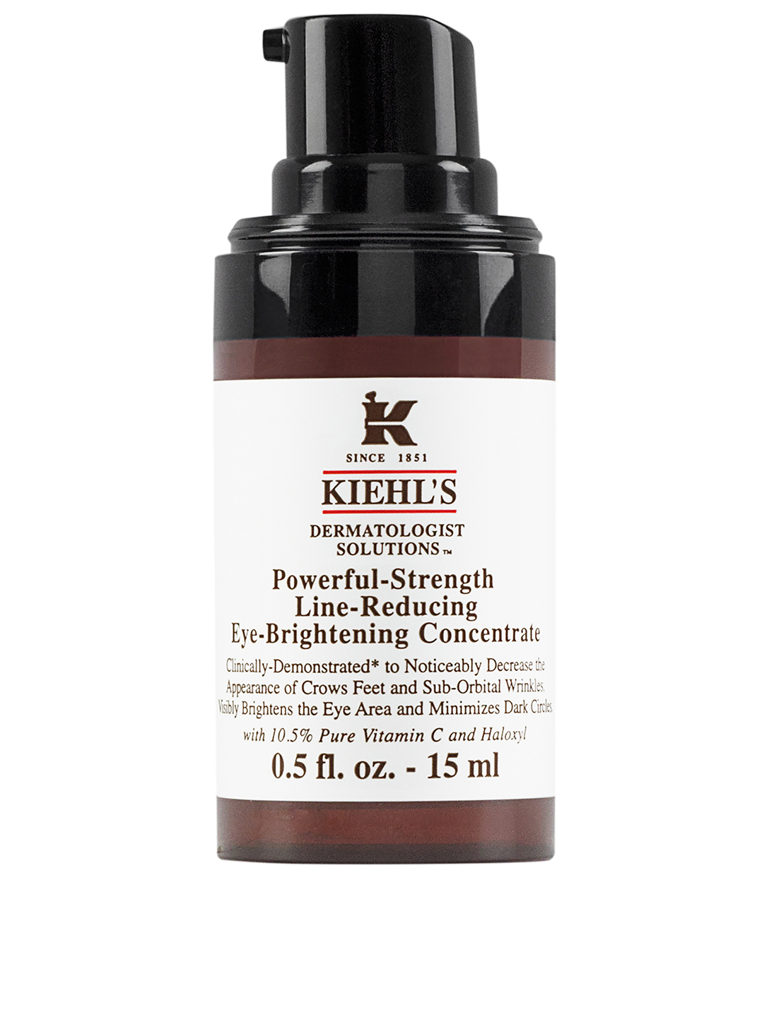 KIEHL'S Powerful-Strength Line-Reducing Eye-Brightening Concentrate Beauty