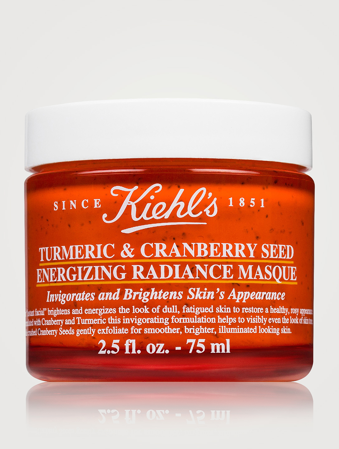 KIEHL'S Turmeric & Cranberry Seed Energizing Radiance Masque Beauty