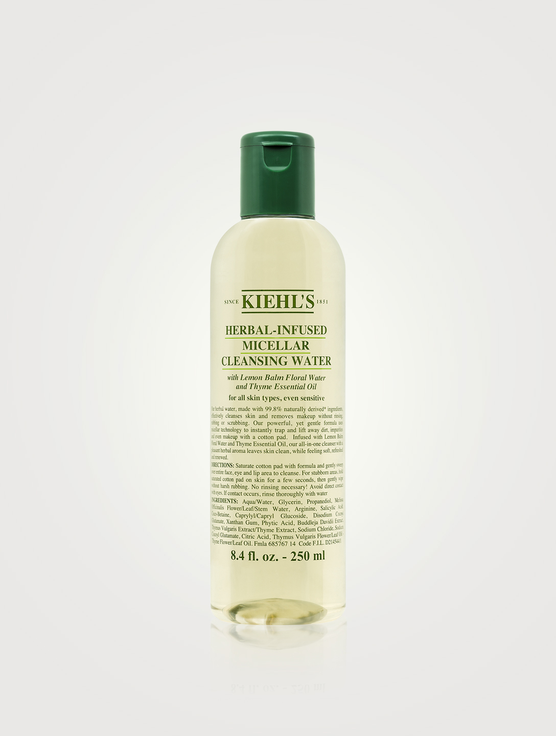 KIEHL'S Herbal-Infused Micellar Cleansing Water Beauty