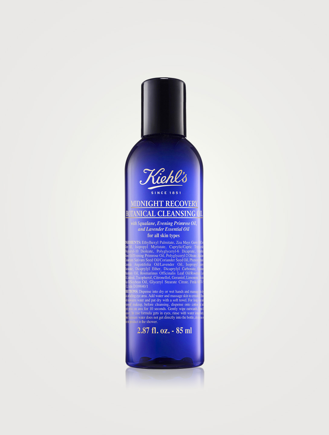 KIEHL'S Midnight Recovery Botanical Cleansing Oil Beauty