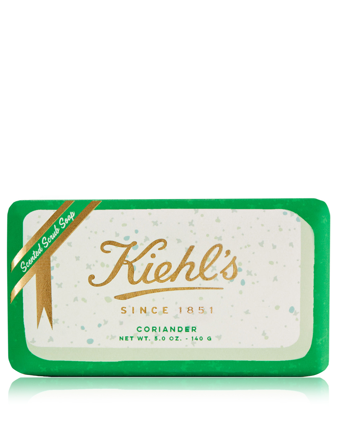 KIEHL'S Coriander Gently Exfoliating Body Scrub Soap - Limited Edition Beauty