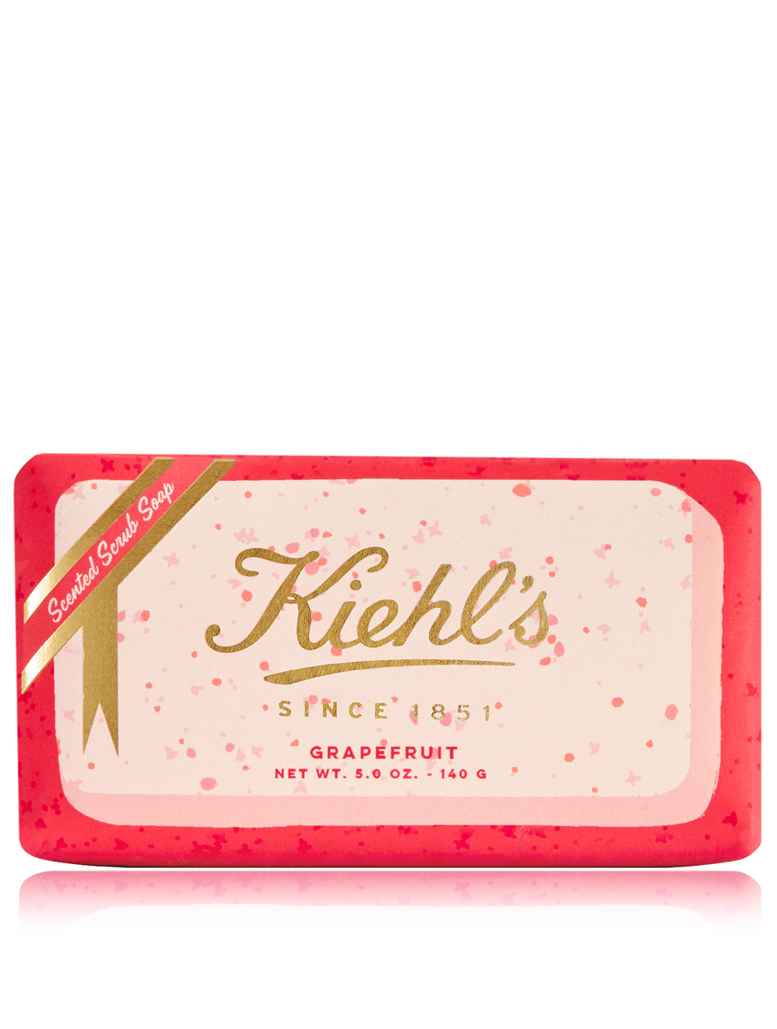 KIEHL'S Grapefruit Gently Exfoliating Body Scrub Soap - Limited Edition Beauty