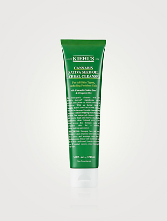 KIEHL'S Cannabis Sativa Seed Oil Herbal Cleanser Beauty