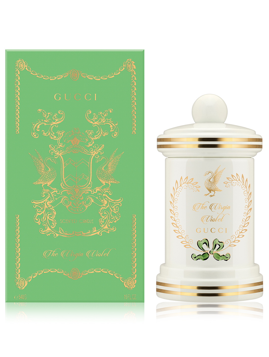 GUCCI Bougie parfumée The Virgin Violet, collection The Alchemist's Garden Beauté