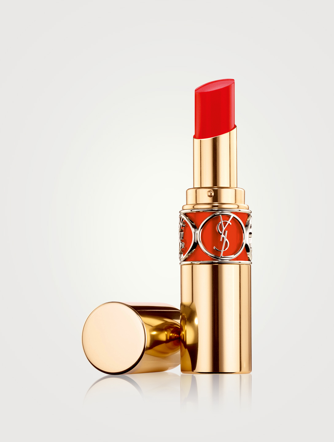 YVES SAINT LAURENT Rouge Volupté Shine Oil-in-Stick Lipstick Beauty Orange