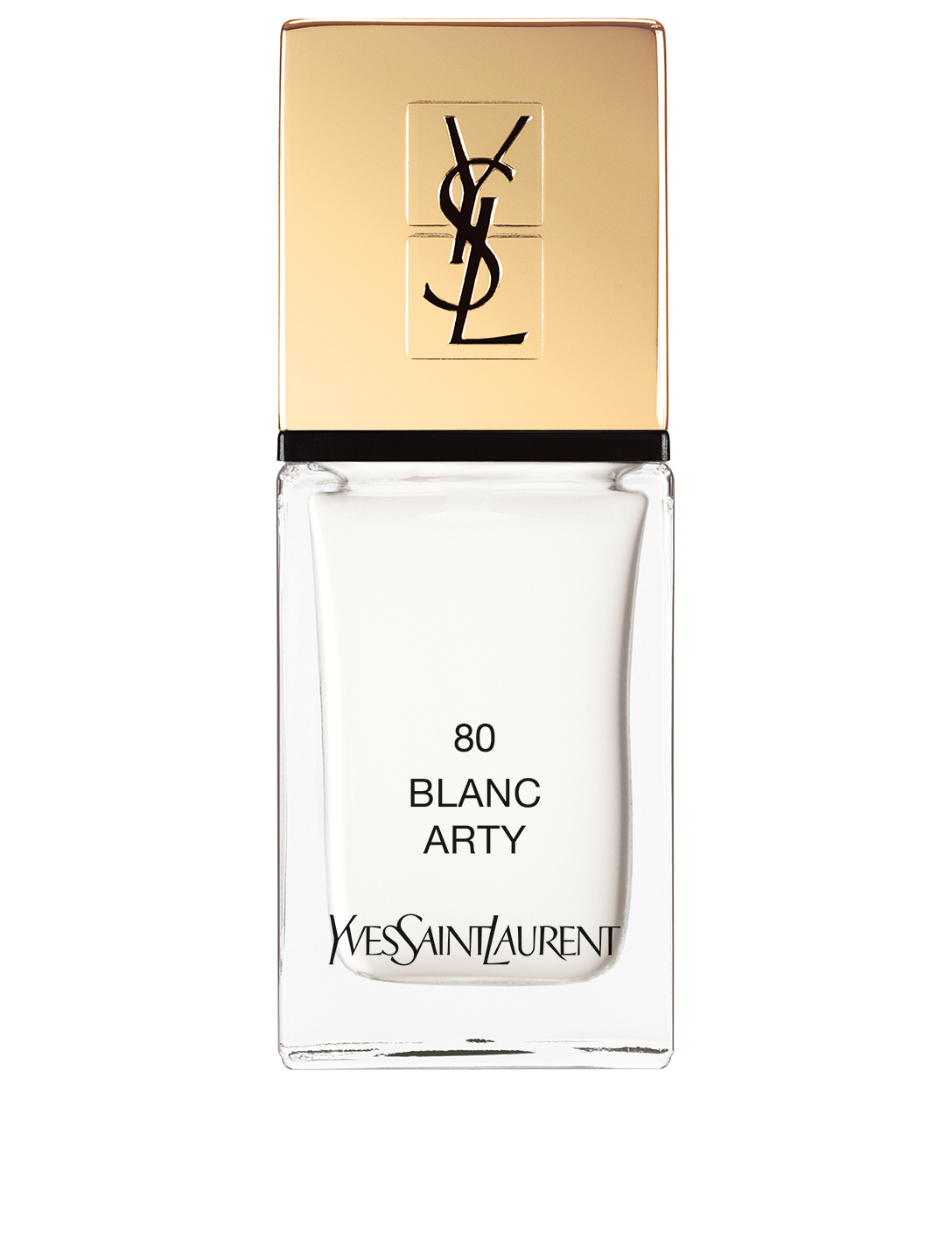 YVES SAINT LAURENT La Laque Couture – Spring Collection Beauty White
