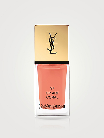 YVES SAINT LAURENT La Laque Couture – Collection du printemps Beauté Orange