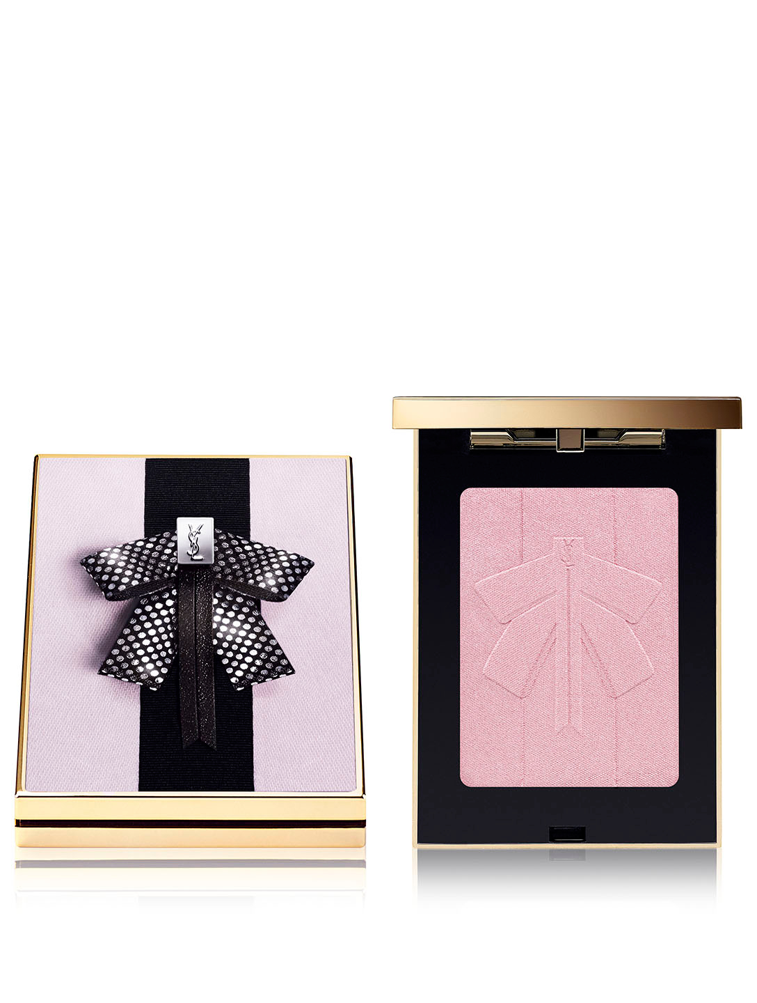 YVES SAINT LAURENT Mon Paris Couture Palette Highlighting Blush Beauty Pink