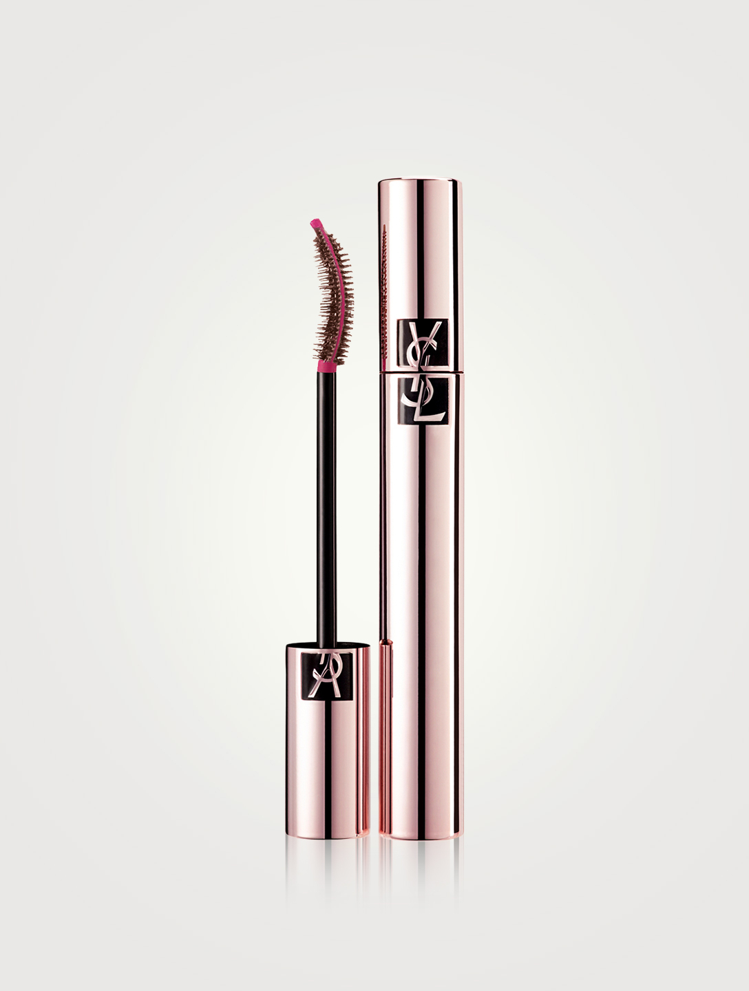 YVES SAINT LAURENT Mascara Volume Effet Faux Cils The Curler Beauté Marron