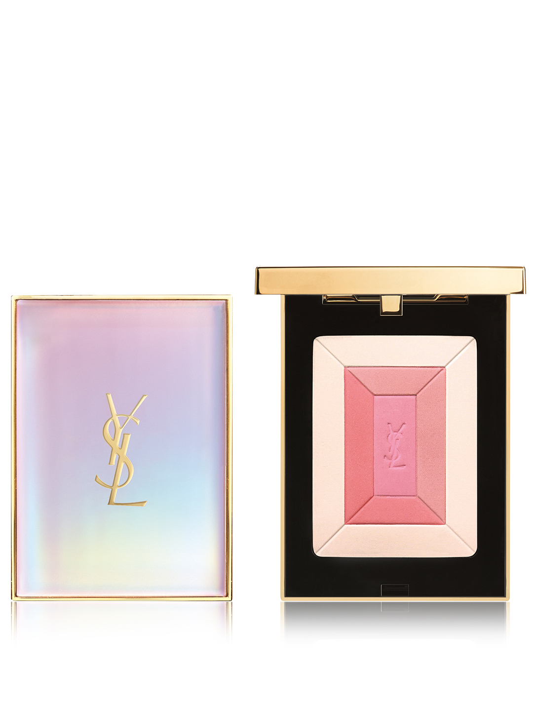 YVES SAINT LAURENT Shimmer Rush Collector Blush Palette - Spring Look 2019 Beauty
