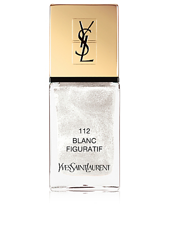 YVES SAINT LAURENT La Laque Couture - Spring Look 2019 Beauty White