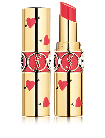 YVES SAINT LAURENT Rouge Volupté Shine édition limitée Heart & Arrow Beauté Orange