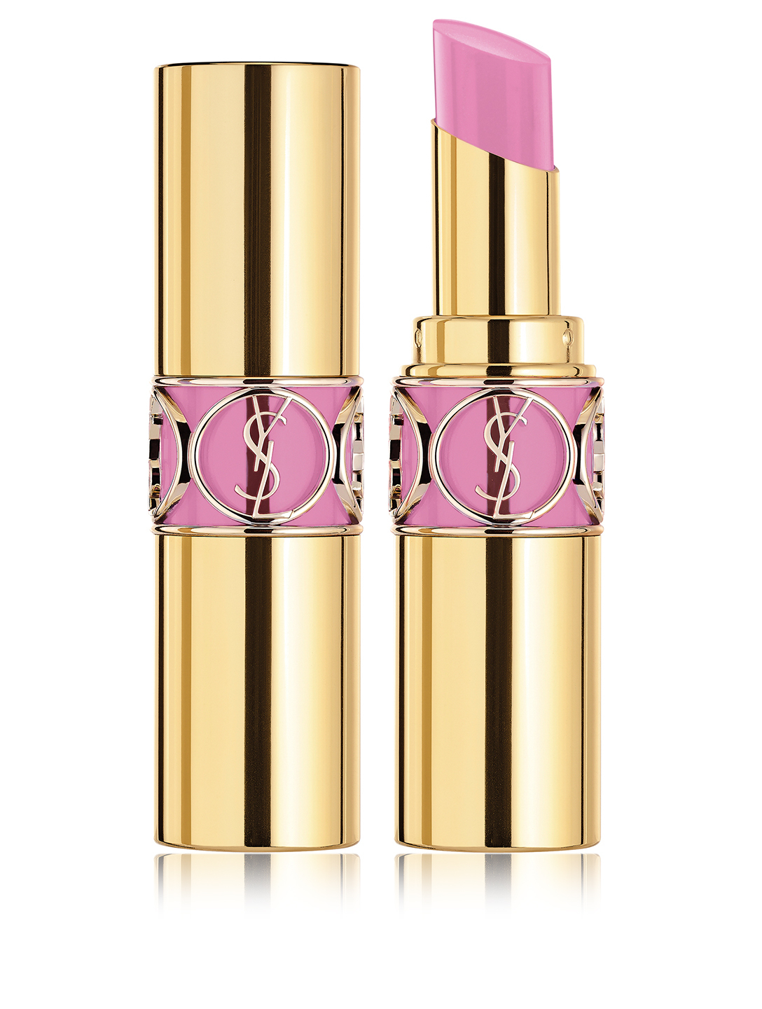 YVES SAINT LAURENT Rouge Volupté Shine - Spring Look 2019 Beauty Pink