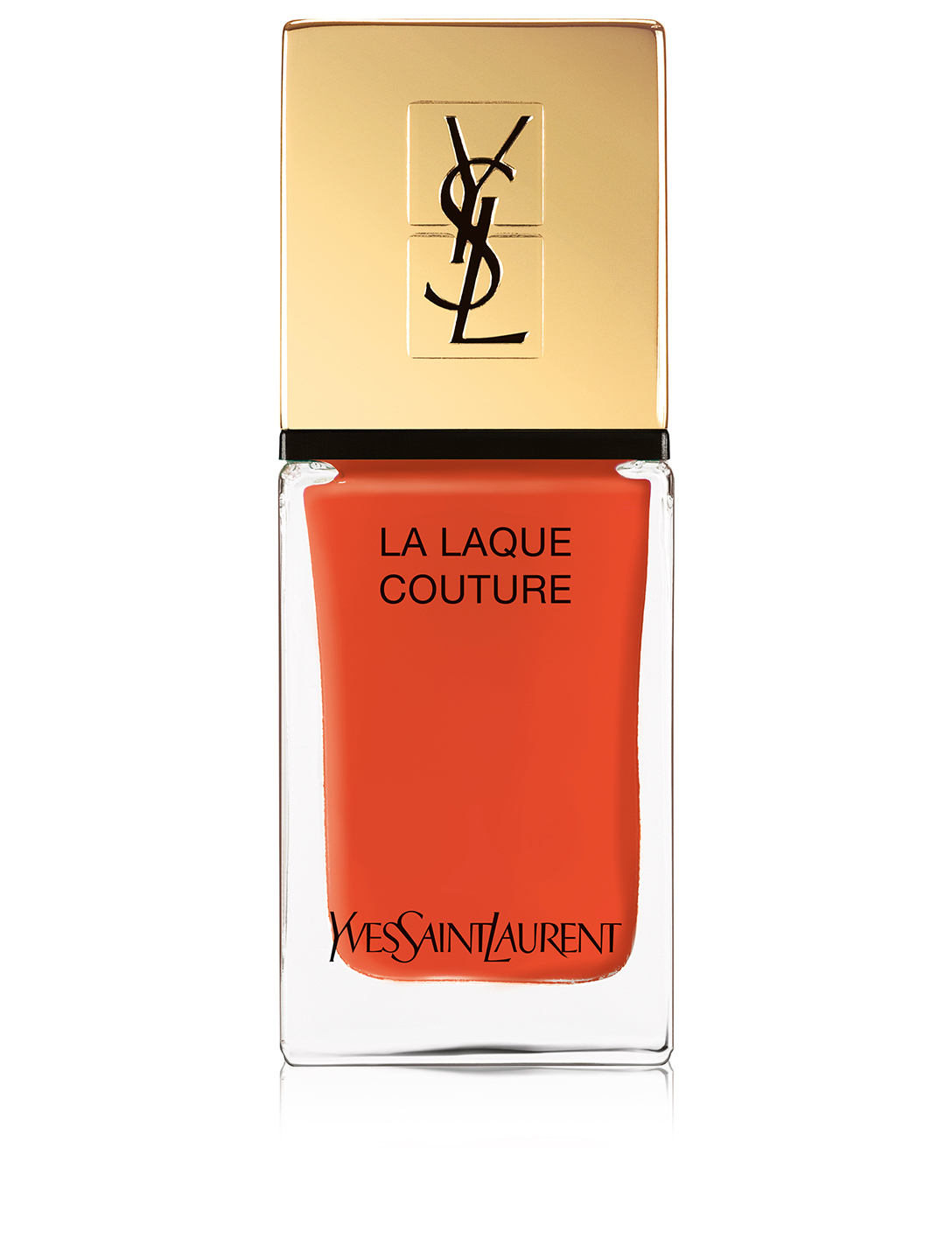 YVES SAINT LAURENT La Lacque Couture - Summer Collection 2019 Beauty Orange
